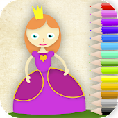 coloring princesses