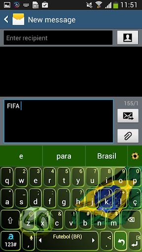 Adaptxt Brazil Football Theme