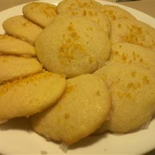 Grapefruit Tea Cookies