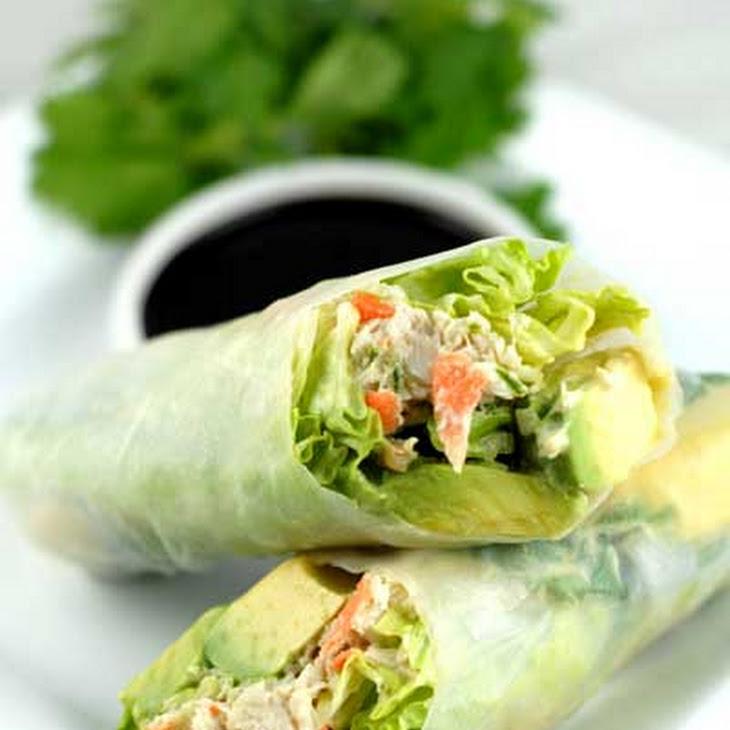 Gluten Free California Rice Paper Rolls Recipe