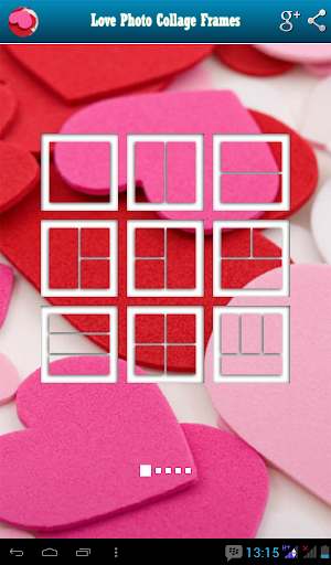 Love Photo Collage Frames
