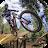 Biking Downhill Sport logo