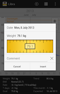 Libra - Weight Manager – Miniaturansicht des Screenshots