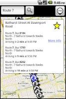 Screenshot of TorontoBusMap