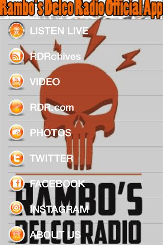 Rambo's Delco Radio