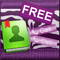 Violet Zebra for GO Contacts icon