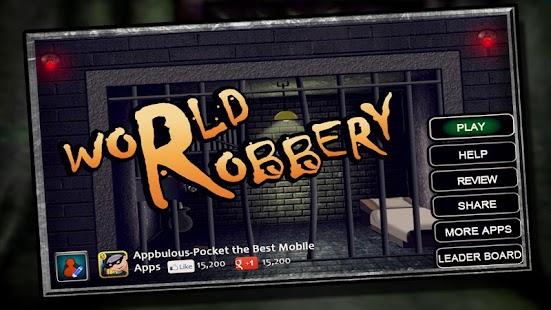 World Robbery - American Job