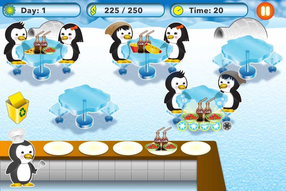Penguin-Restaurant-Waitress 18