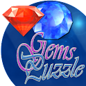 Match 3 Gems Puzzle icon