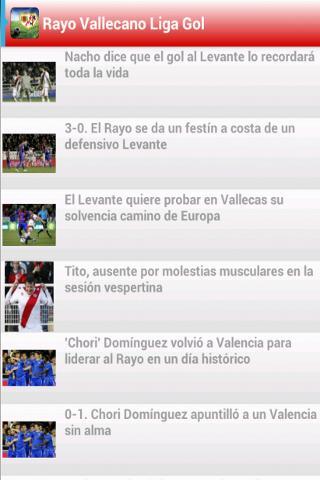 Rayo Vallecano Liga Gol