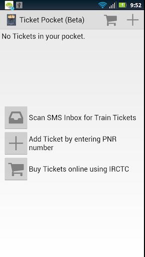 Ticket Pocket