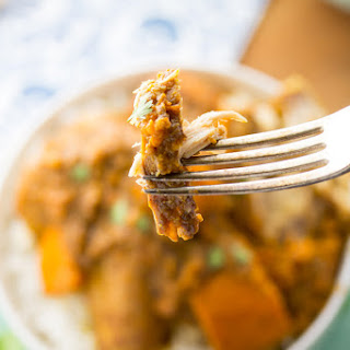 SLOW COOKER CHICKEN & SWEET POTATO KORMA