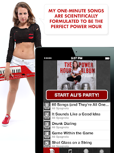 Ali Spagnola's Power Hour- screenshot thumbnail