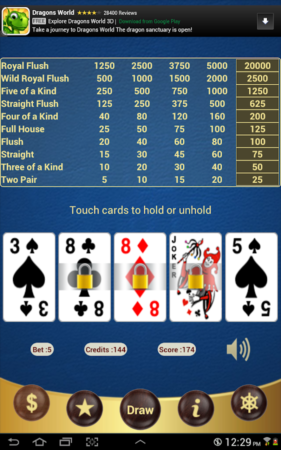 Double Joker Poker - screenshot