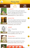 Screenshot of OpenRice Indonesia