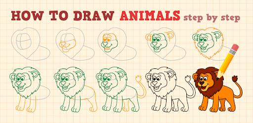 how to draw animals apps on google play