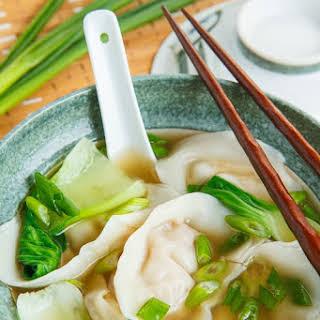 Shrimp Wonton Soup.