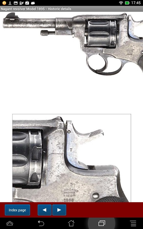 Nagant revolvers explained- screenshot