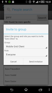 Mobile Grid Client- screenshot thumbnail