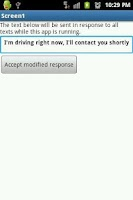 Screenshot of No text while driving 2
