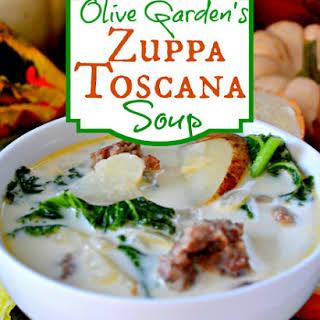 Olive Garden Zuppa Toscana Soup.