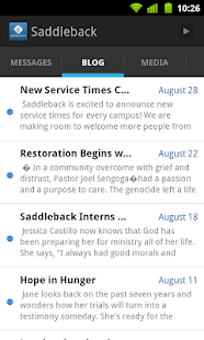Saddleback Church - screenshot thumbnail