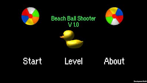 Beach Ball Shooter