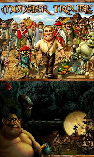 اللعبة الاستراتيجية الجديدة : Monster Trouble HD