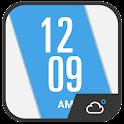 Clock Weather Cool Widget icon