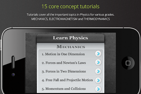 Learn Physics- screenshot thumbnail