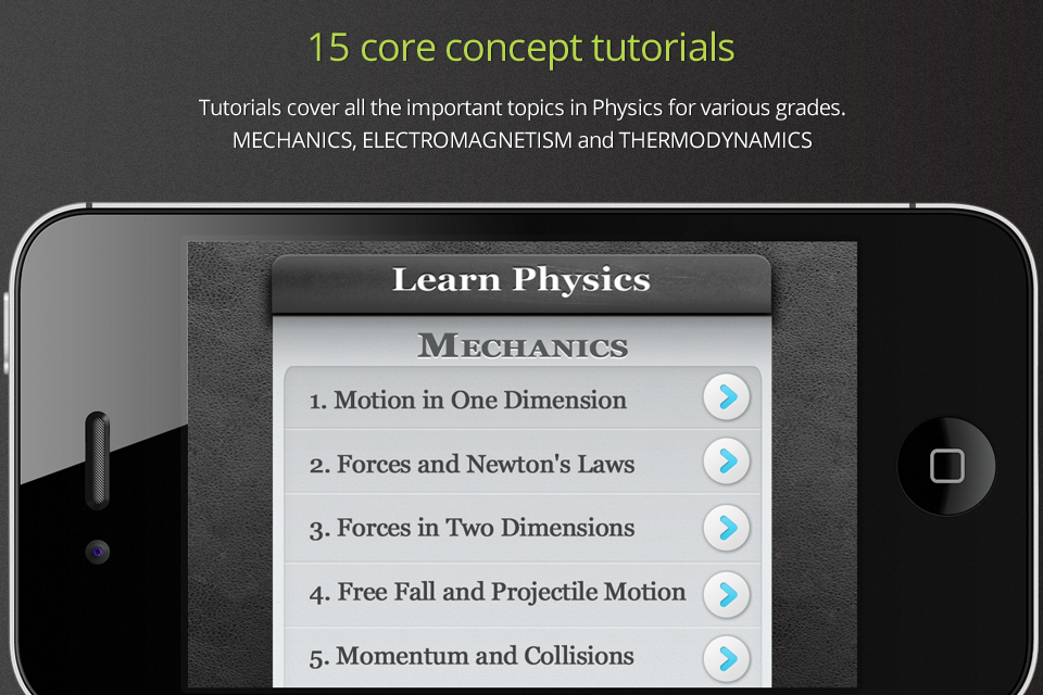 Learn Physics- screenshot