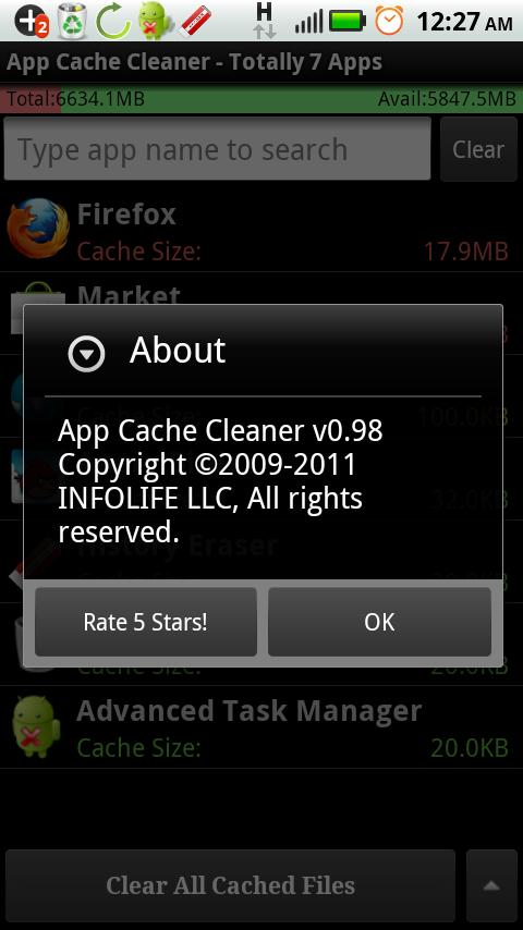 App Cache Cleaner Pro - Clean - screenshot
