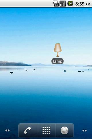 Lamp- screenshot