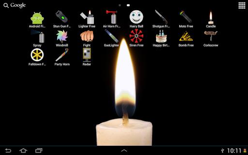 玩個人化App キャンドルライブ壁紙免費 APP試玩