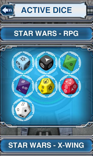 Star Wars: Edge of Rebellion Dice