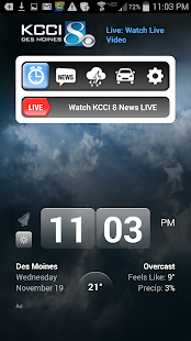 Alarm Clock KCCI 8 News - Iowa- screenshot thumbnail