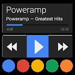 Poweramp skin 5in1 Now Dark v1.0.3