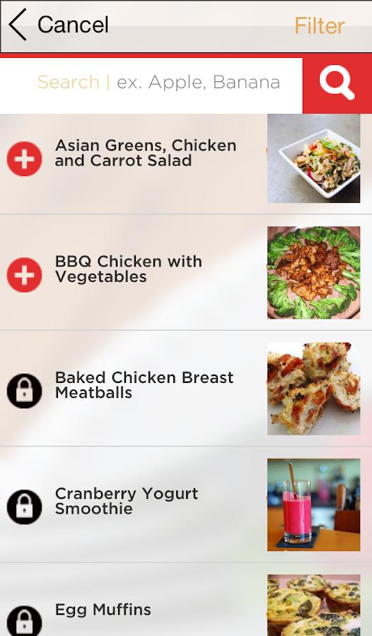 17 diet plan app