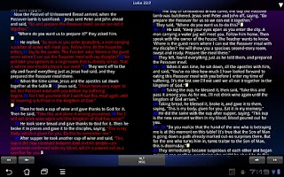 Screenshot of BibleScope