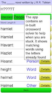 Crossword Unlimited + - screenshot thumbnail