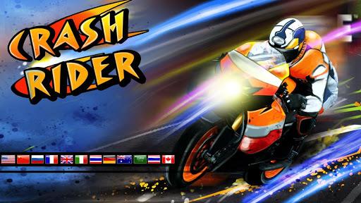 クラッシュライダー:3Dモト自転車レース