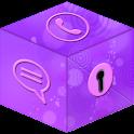 Secret Call&SMS- Violet style logo