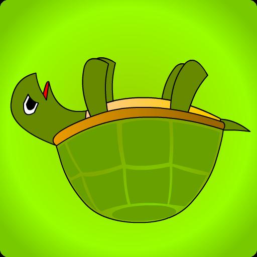 撑着乌龟 動作 App LOGO-硬是要APP