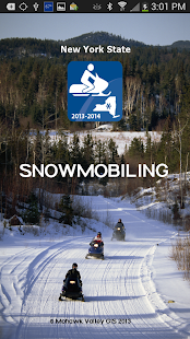 Snowmobiling NY State 2013