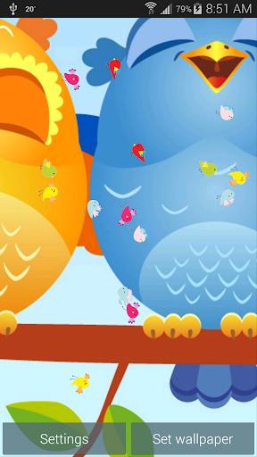 玩個人化App|鸣叫鸟类动态壁纸免費|APP試玩