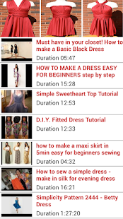 Sewing Tutorial Dresses