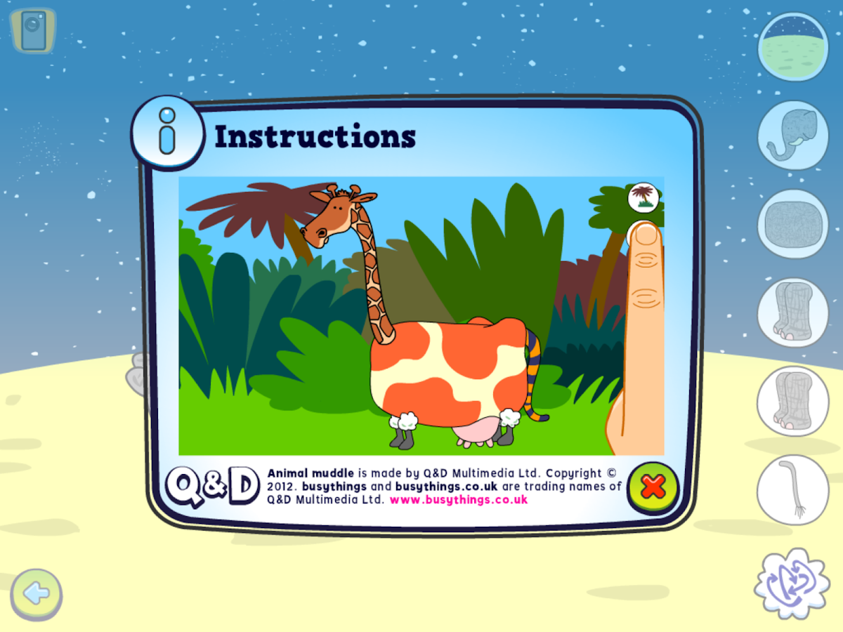 Animal Muddle- screenshot