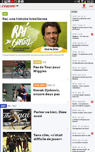 L'Equipe.fr : foot, rugby- screenshot thumbnail