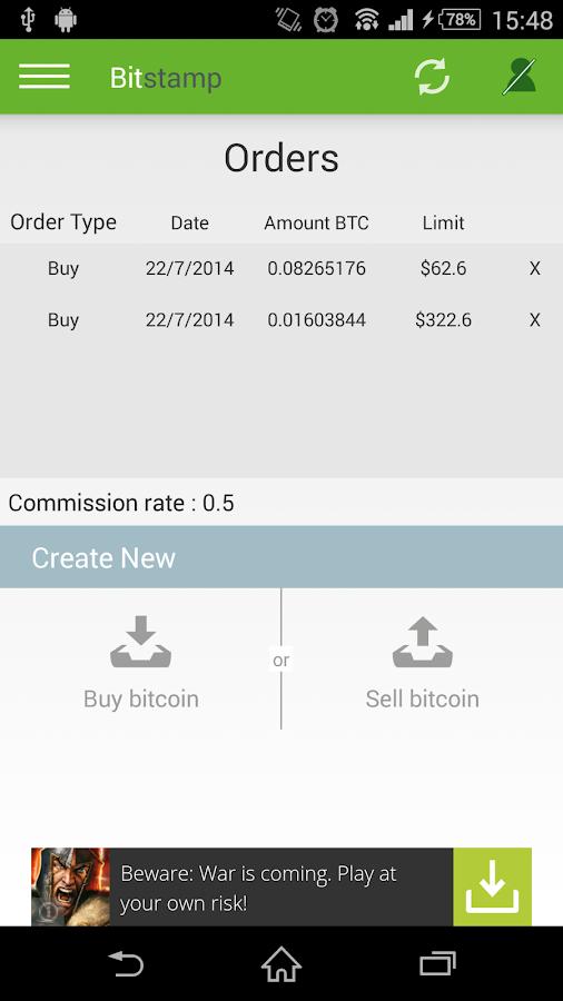 bitcoin sell Spain