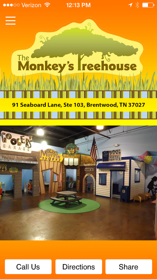 The Monkey's Treehouse- screenshot